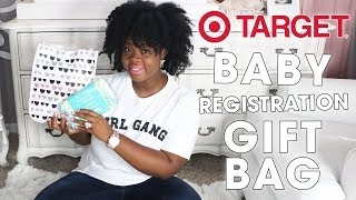 Target Baby Registry FREE  Gift Unboxing