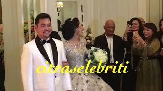 Resepsi Ratu Meta dan Eddy Faisal di Meriahkan Fitri Karlina, Siti Badriah dan Elly Sugigi