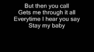 KARAOKE - STAY MY BABY - AMY DIAMOND.wmv