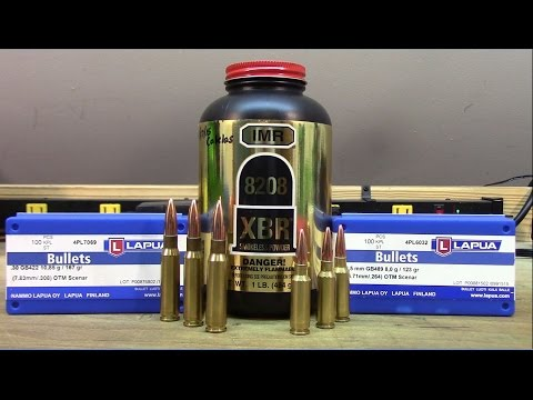 .308 Win and 6.5 Grendel - Lapua Scenar bullets with IMR 8208 XBR