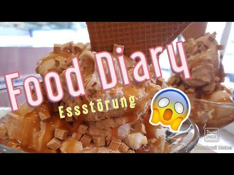 FOOD DIARY! || 5 Tage Mit ESSSTÖRUNG🙈 || My Memorial