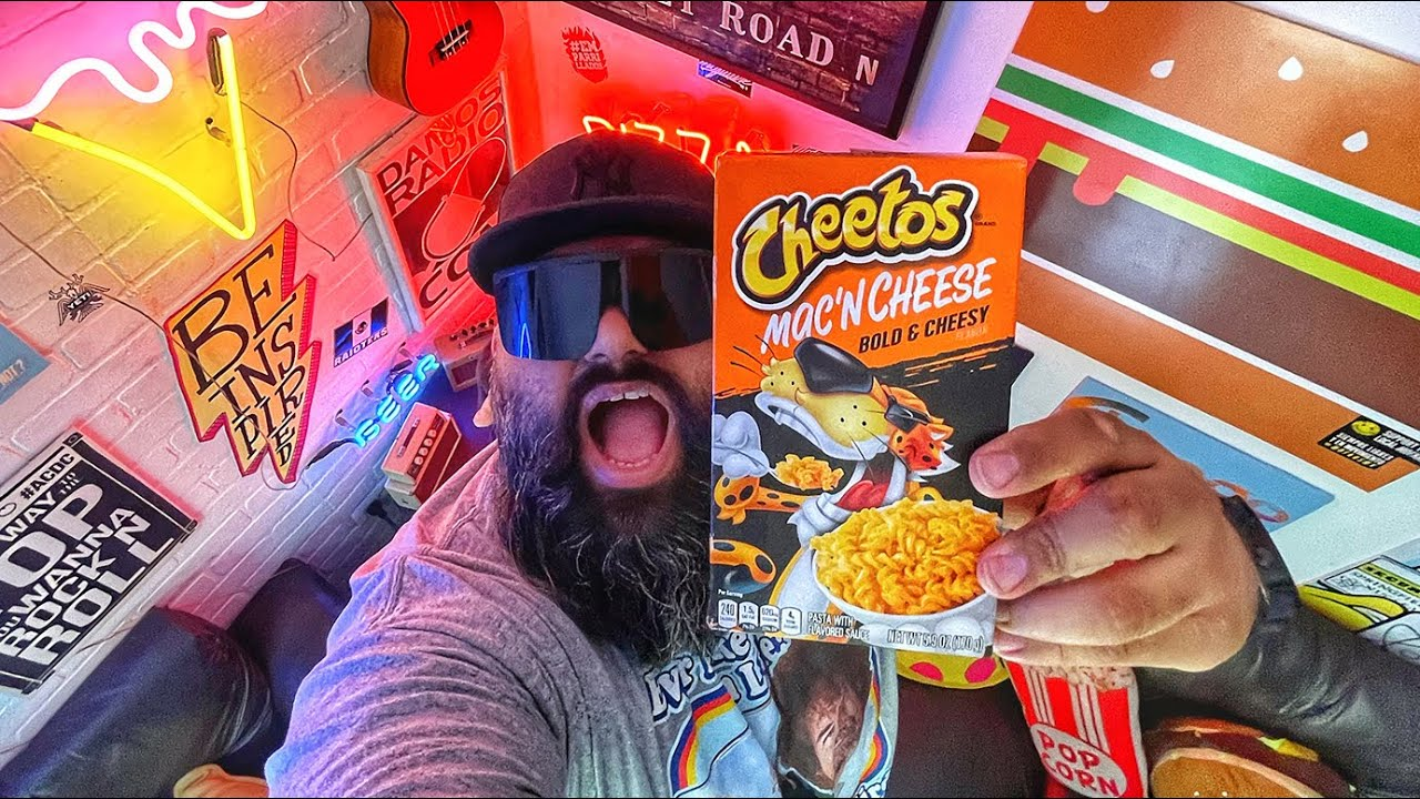 CHEETOS MAC AND CHEESE PIMP by DAVE HUNGRY