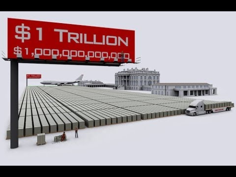 What would $17 Trillion National Debt look like in $100 bills?