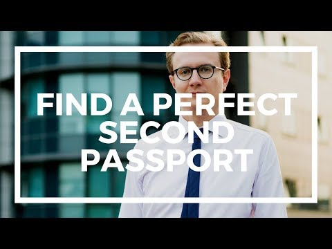 2 questions to find your perfect second passport