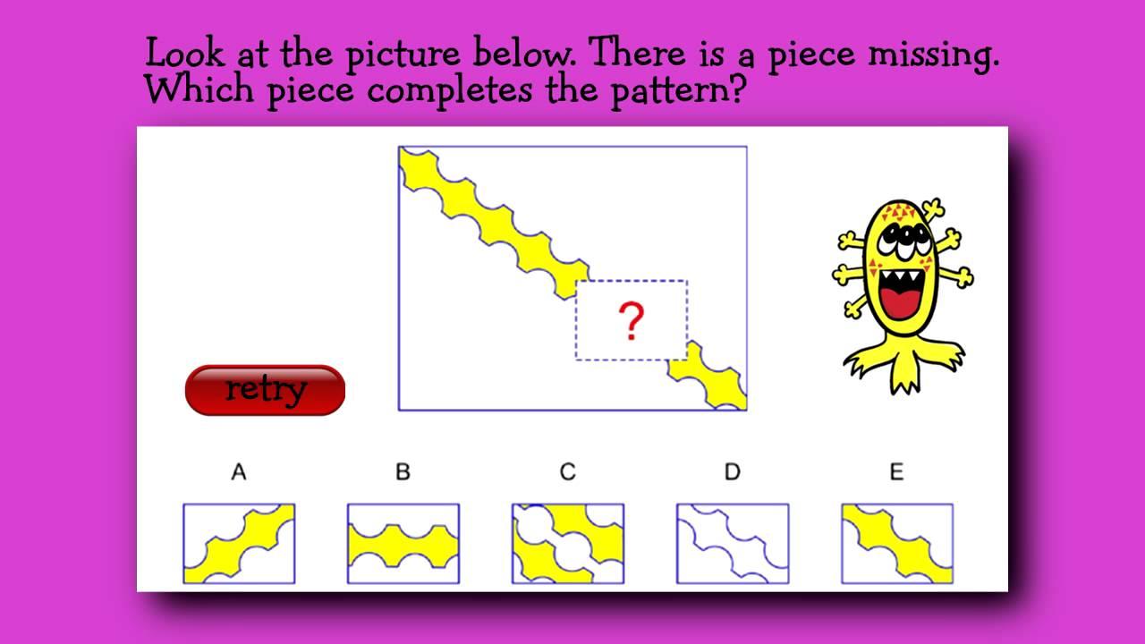 kindergarten questions