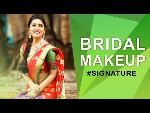 How to do Bridal Makeup | Vani Bhojan's Beauty Secret #Signature