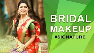 How to do Bridal Makeup | Vani Bhojan's Beauty Secret #Signature