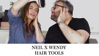 Neil Moodie, hair stylist to t…