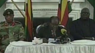 Zimbabwe's President Mugabe ignores resignation deadline
