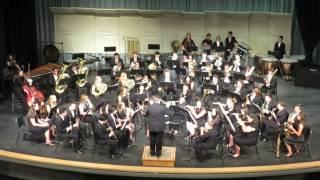 shs wind symphony playing slava a concert overture leonard bernstein trans grundman