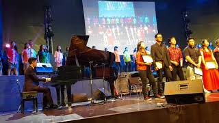 Beda tapi Satu (We embrace the world)  - ChildAid Asia with DB2 Choir with Jonathan Koisyner