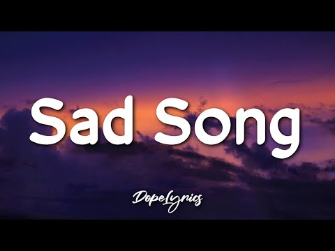 Sad Song - We The Kings (Lyrics) ft. Elena Coats