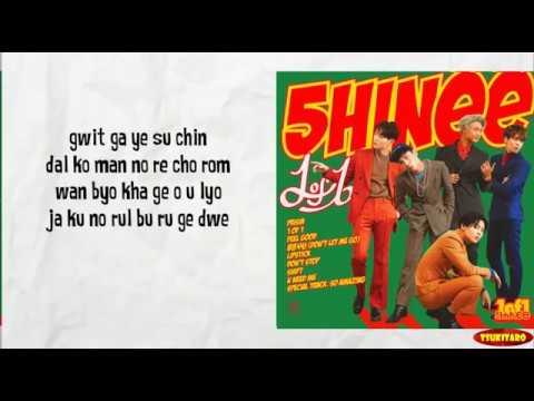 Shinee - 1 of 1 Lyrics (karaoke with easy lyrics)