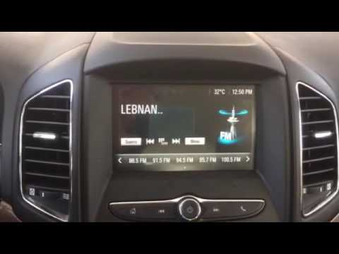 Multimedia Video Interface For 2016 Captiva Equipped With My Link