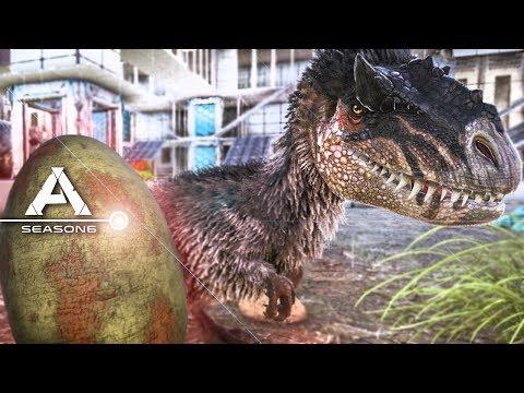 ARK: Survival Evolved - YUTYRANNUS TAMING, BABY YUTY EGG, PATCH 258 #25 - Pugnacia Modded Gameplay