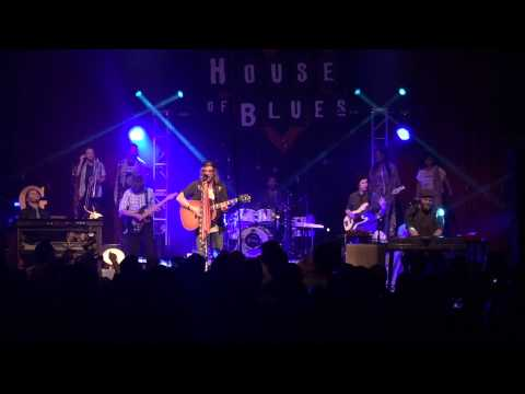 Allen Stone Unaware live in San Diego at House of Blues 2014 - 7 of 16