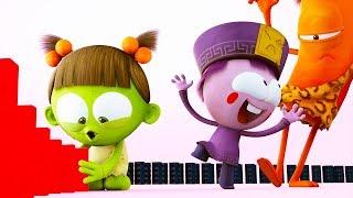 Spookiz | Love Of Dominoes | NEW EPISODE | 스푸키즈 | Funny Cartoon | Kids Cartoons | Videos for Kids