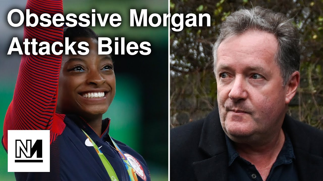 Piers Morgan Lashes Out At Simone Biles