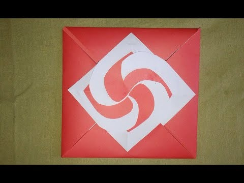 DIY-Envelope Paper heart card Gift || Make for Boyfriend/Girlfriend || DIY 3D flower POP UP card