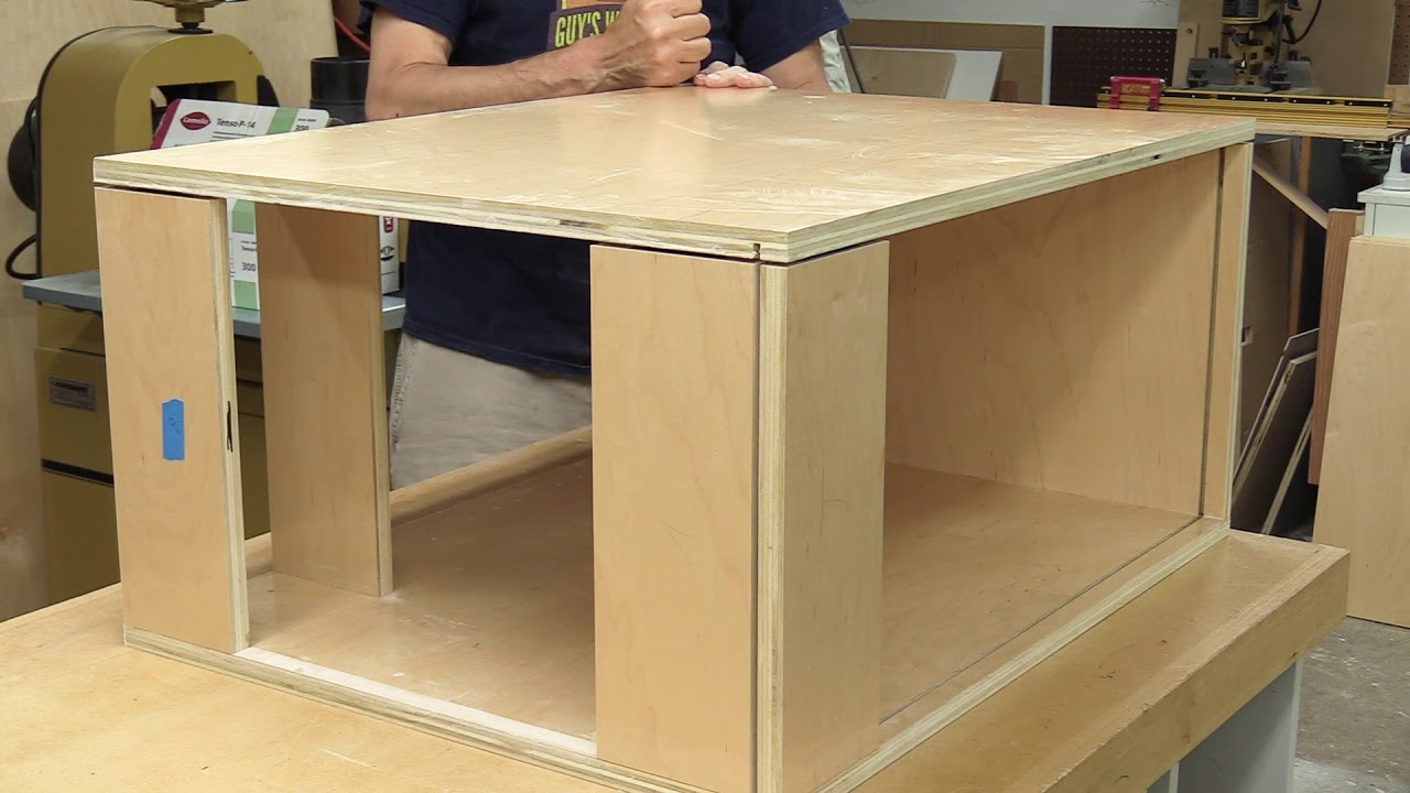 How To Make Frame Less Kitchen Cabinets Diy Cabinets Youtube
