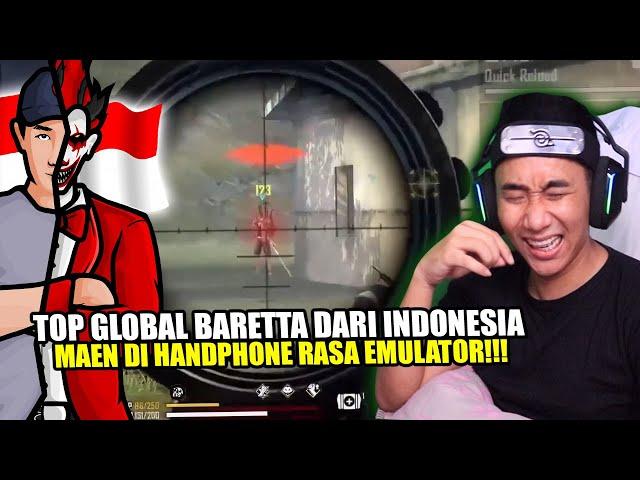 TOP GLOBAL BARETTA DARI INDONESIA INI SANGAT GIIILASIH MENURUTKU!!!
