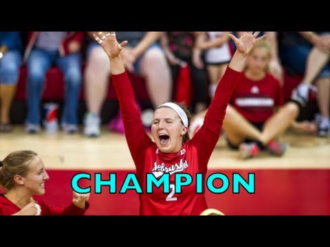 Mikaela Foecke Highlights - Nebraska vs Texas NCAA 2015 Finals Women's Volleyball