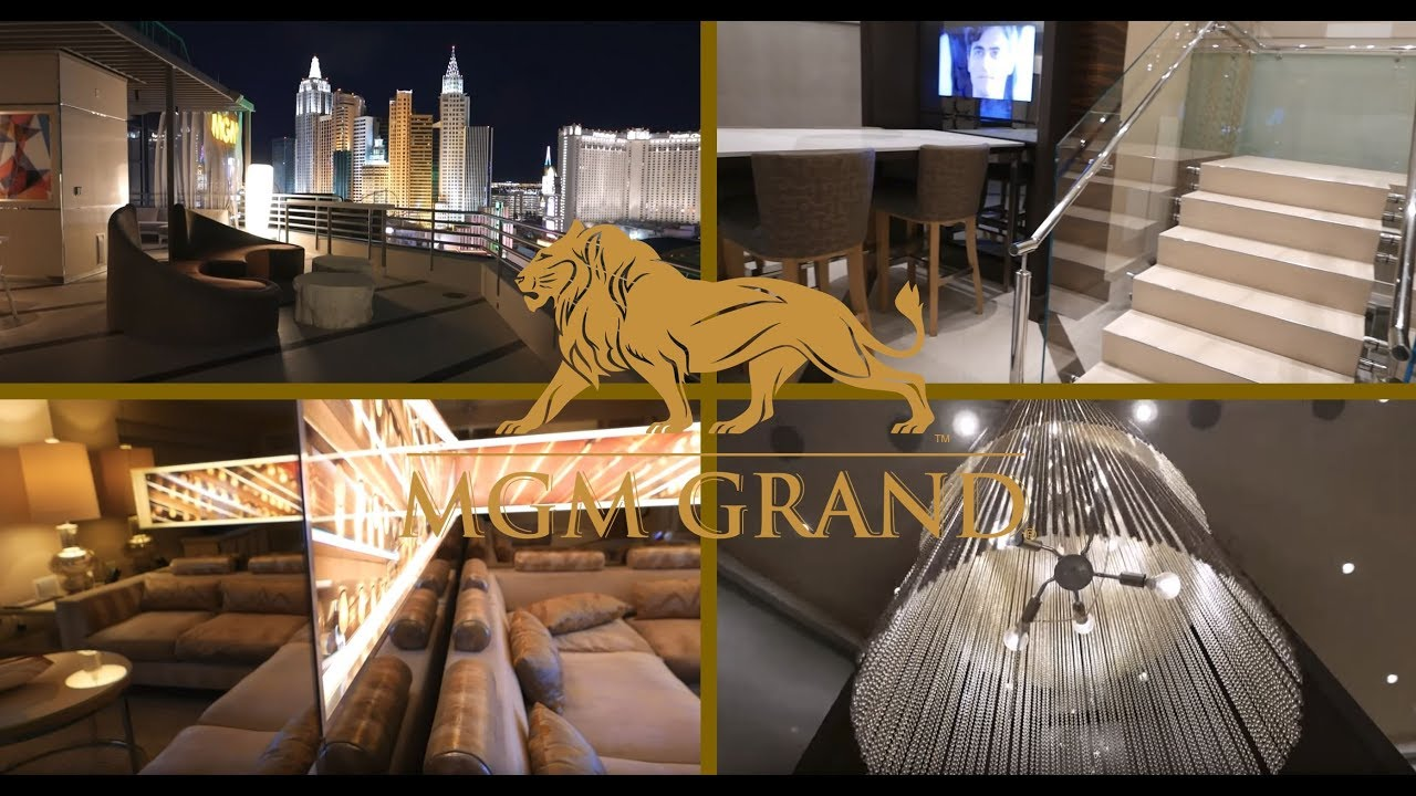 Mgm Grand Skyline Terrace Suite Room Tour Youtube