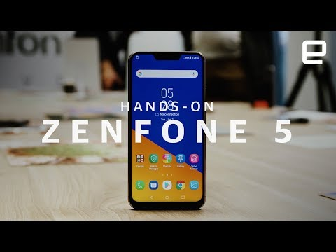 ASUS Zenfone 5 Hands-On at MWC 2018