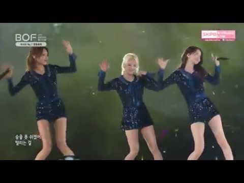 "161001 SNSD 소녀시대 ""GEE"" performance Busan One Asia Festival - BOF 2016"