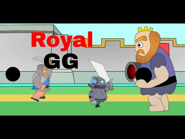 Clash Royale Parody-Royal Giant