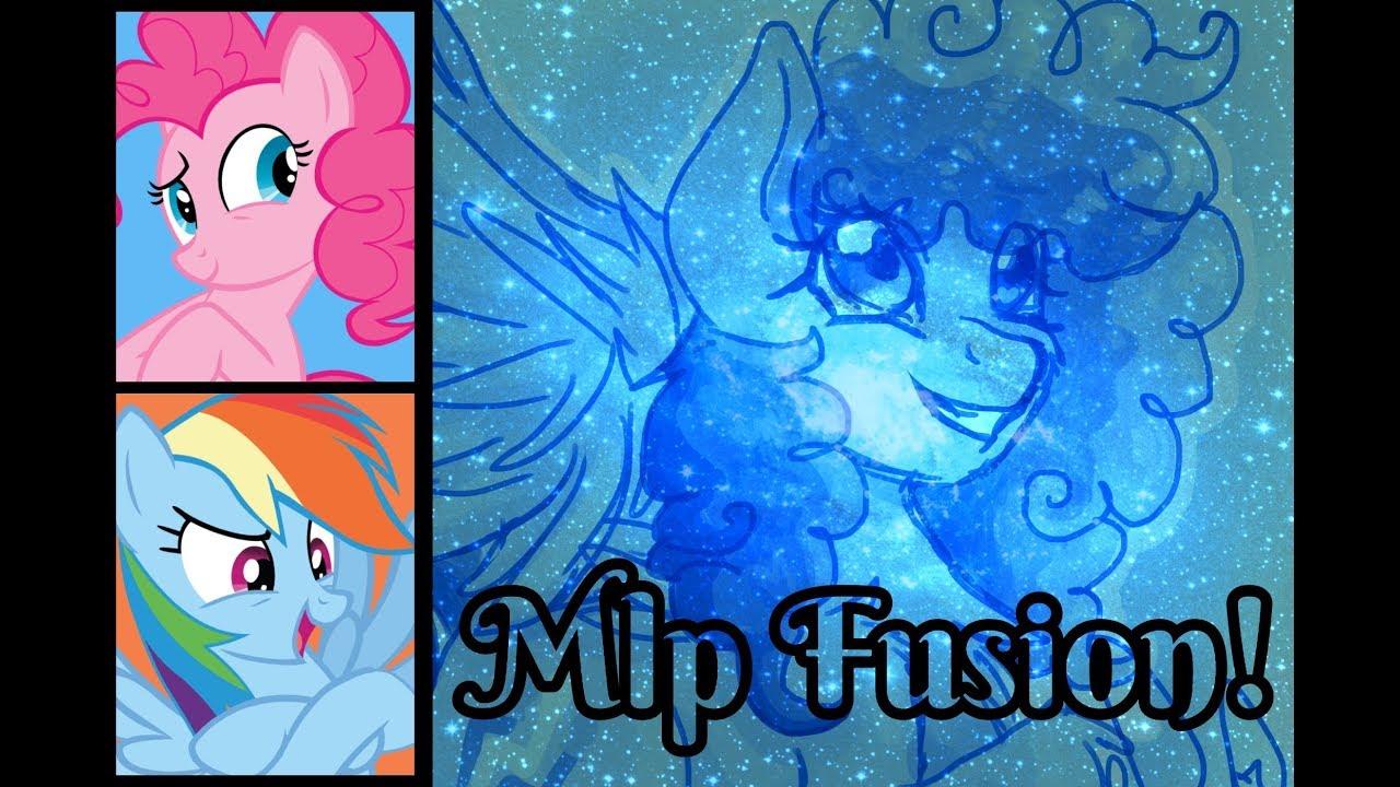 - RAINBOW PIE! Pinkie Pie X Rainbow Dash (MLP Fusion) [SpeedPaint