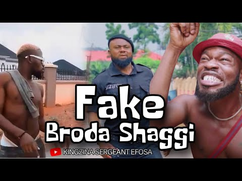 Police tames fake Broda Shaggi PT 3 (Wahala Jam Trouble) – KingZina comedy