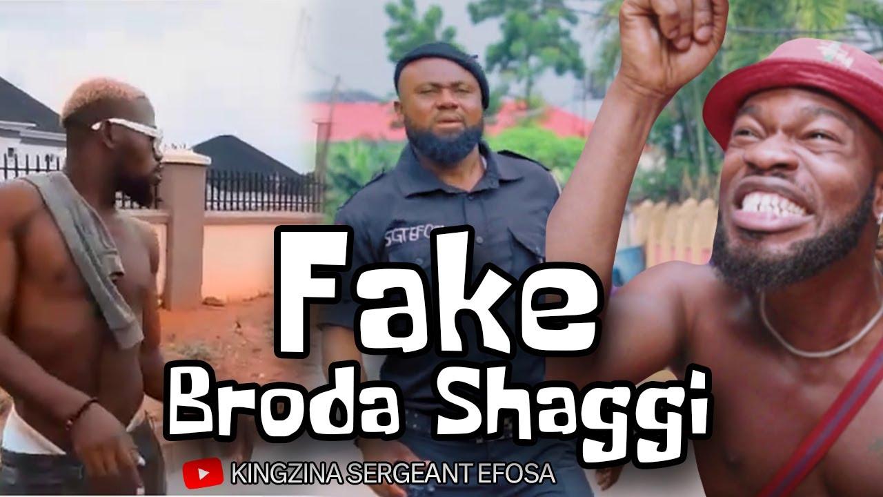 Police tames fake Broda Shaggi PT 3 (Wahala Jam Trouble) - KingZina comedy