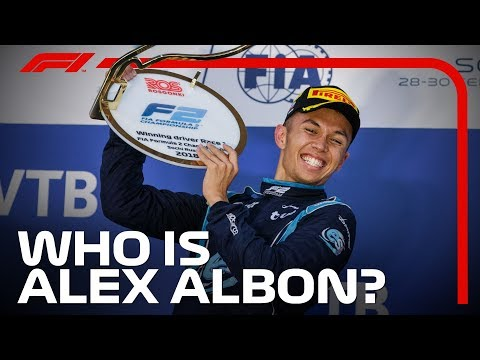 Toro Rosso's Alex Albon: All You Need To Know