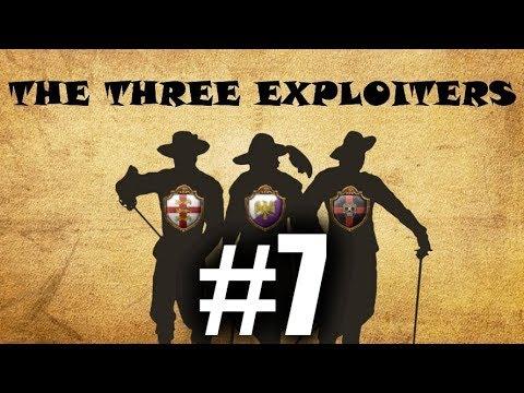 [EU4] 3 Exploiters #7 - France Attacked us!