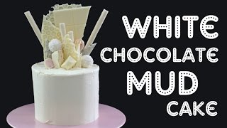 White Chocolate Cake Recipe + Candy Shard Decoration! | Elise Strachan | My Cupcake Addiction