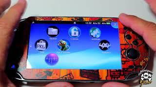 Adrenaline Psvita H-encore Emulador PSP PS1 Todas las Versiones