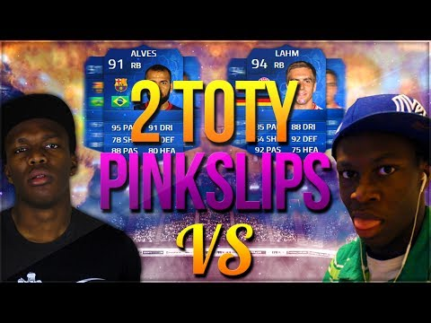STUPID TOTY PINK SLIPS | KSI Vs ComedyShortsGamer