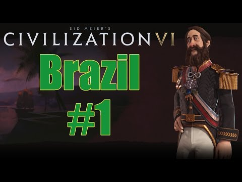 Civilization VI - Brazil - Deity - Part 1
