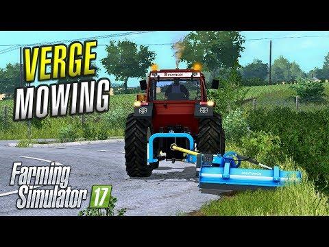 Farming Simulator 2017 | VERGE MOWING | Ballymoon Castle | Episode 9