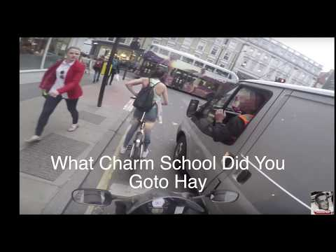 Girl Cyclist In London Gets Revenge