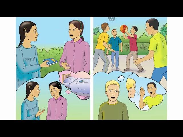 صفحة 12 و13 الفصل الأول إنجليزي الصف السادس