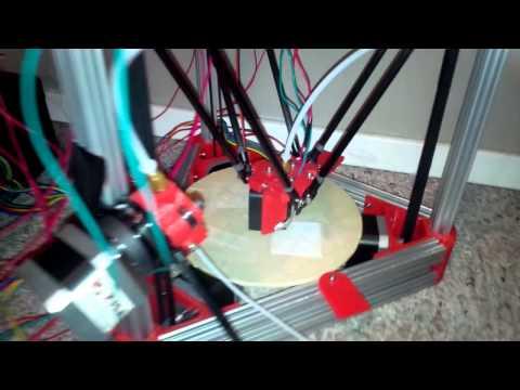 3d Printing via the Raspberry Pi's GPIOs