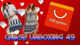 COMPRAS ALIEXPRESS - QUASE UNBOXING 49 VESTIDOS ALIBABA!