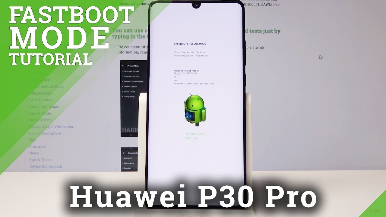 Fastboot Mode HUAWEI P30 Pro - How to Enter & Exit Fastboot & Rescue Mode