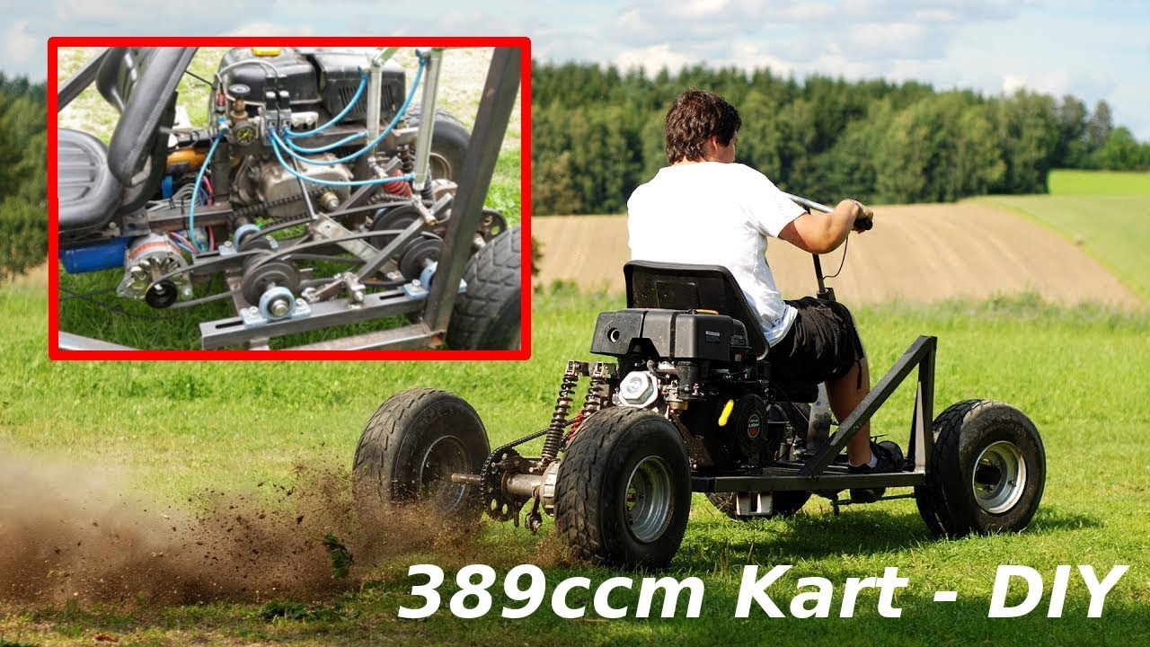 drift kart offroad go kart 389ccm 13ps druckluft. Black Bedroom Furniture Sets. Home Design Ideas