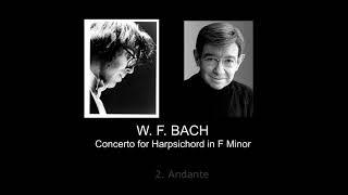 W.F. BACH - Concerto for Harpsichord in F Minor