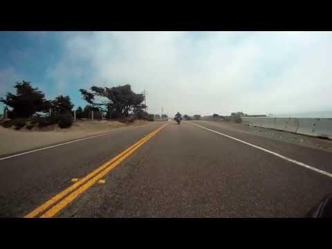 Riding Pacific Coast Highway through Big Sur
