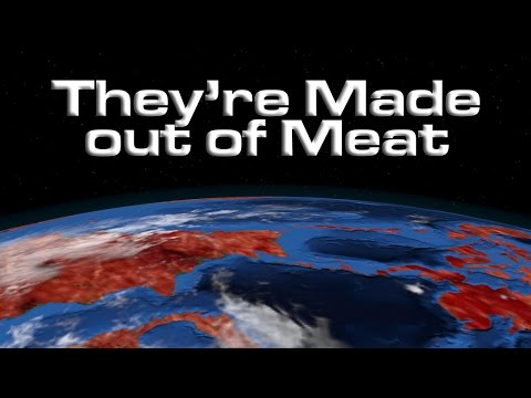 """They're Made out of Meat"" by Terry Bisson"