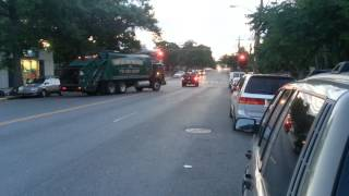Sanitation Salvage carting truck